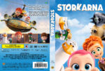 Storks (2016) R2 DVD Custom Swedish Cover