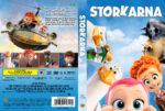 Storks (2016) R2 DVD Custom Swedish Cover