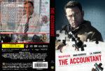 The Accountant (2016) R2 DVD Custom Swedish Cover