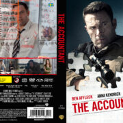 The Accountant (2016) R2 DVD Custom Swedish Cover
