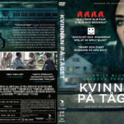 The Girl on the Train (2016) R2 DVD Custom Swedish Cover