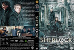 Sherlock – Season 4 (2017) R1 Custom Cover & Labels
