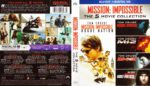 Mission Impossible: Movie Collection (1996-2015) R1 Blu-Ray Cover