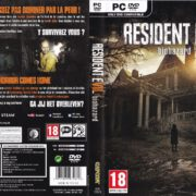 Resident Evil 7 Biohazard (2017) FR NL Custom PC Cover