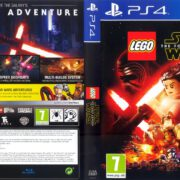 LEGO Star Wars The Force Awakens (2016) PAL PS4 Cover & Label