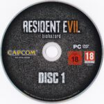 Resident Evil 7 Biohazard (2017) German PC Labels
