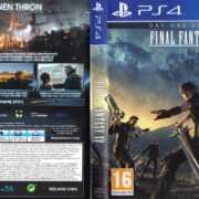 Final Fantasy XV (2016) German Custom PS4 Cover