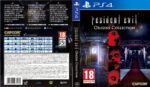 Resident Evil Origins Collection (2016) German Custom PS4 Cover & Label