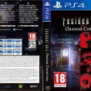 Resident Evil Origins Collection (2016) German Custom PS4 Cover & Label