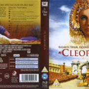 Cleopatra (1963) R1 Blu-Ray Cover & Labels