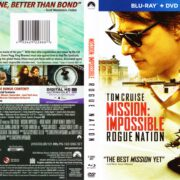 Mission Impossible – Rogue Nation (2015) R1 Blu-Ray Cover