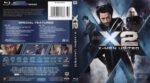 X-Men – X-2 (2003) R1 Blu-Ray Cover
