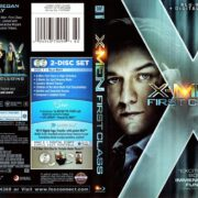 X-Men - First Class (2011) R1 Blu-Ray Cover