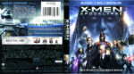 X-Men – Apocalypse (2016) R1 Blu-Ray Cover
