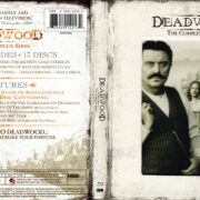Deadwood: Complete Series (2004-2006) R1 Blu-Ray Cover