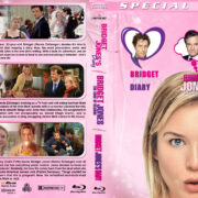 Bridget Jones Triple Feature (2001-2016) R1 Custom Blu-Ray Cover