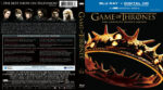 Game Of Thrones: Season 2 (2012) R1 Blu-Ray Cover