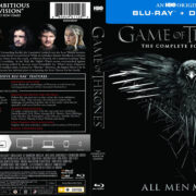 Game Of Thrones: Season 4 (2014) R1 Blu-Ray Cover