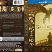 Game Of Thrones: Season 5 (2015) R1 Blu-Ray Cover