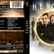 Heroes: Season 3 (2008-09) R1 Blu-Ray Cover