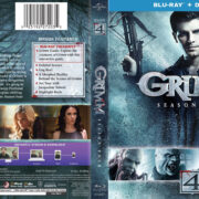 Grimm: Season 4 (2014) R1 Blu-Ray Cover