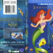 The Little Mermaid: 2-Movie Collection (2000-2008) R1 Blu-Ray Cover