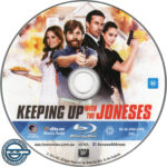 Keeping Up With The Joneses (2016) R4 Blu-Ray Label