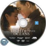 The Light Between Oceans (2016) R4 DVD Label