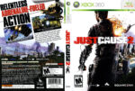 JUST CAUSE 2 (2010) USA XBOX 360 Cover