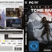 Rise of The Tomb Raider (2016) PC Cover & Labels