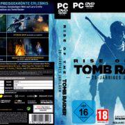 Rise of The Tomb Raider – 20 Jähriges Jubiläum (2016) V1 German Custom PC Cover & Labels