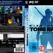 Rise of The Tomb Raider – 20 Jähriges Jubiläum (2016) V2 German Custom PC Cover & Labels