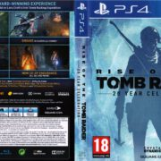 Rise of The Tomb Raider – 20 Year Celebration (2016) USA Custom PS4 Cover & Label
