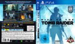 Rise of The Tomb Raider – 20 Jähriges Jubiläum (2016) German Custom PS4 Cover & Label