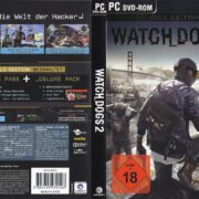 Watch Dogs 2 (Gold Edition) (2016) German Custom PC Cover & Labels