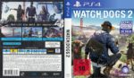 Watch Dogs 2 (2016) German Custom PS4 Cover & Label