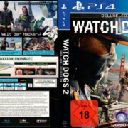 Watch Dogs 2 (Deluxe Edition) (2016) German Custom PS4 Cover & Label