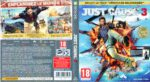Just Cause 3 (2015) XBOX ONE France Cover & Label