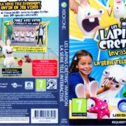 Rabbids Invasion (2014) XBOX ONE France Cover & Label