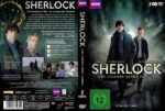 Sherlock Staffel 2 (2011) R2 German Custom Cover & Labels