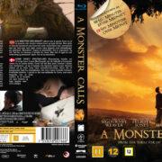 A Monster Calls (2016) R2 Custom Blu-Ray Nordic Cover