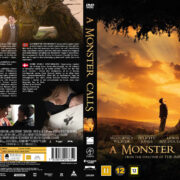 A Monster Calls (2016) R2 Custom DVD Nordic Cover