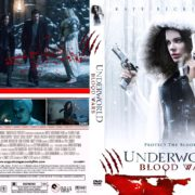 Underworld: Blood Wars (2016) CUSTOM Cover & Label