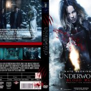 Underworld: blood wars (2016) CUSTOM DVD Cover & Label