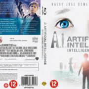 A.I. Artificial Intelligence (2001) R2 Blu-Ray Dutch Cover