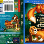 The Fox And The Hound: 2-Movie Collection (1981-2006) R1 Blu-Ray Cover