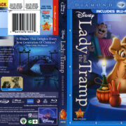 Lady And The Tramp (1955) R1 Blu-Ray Cover