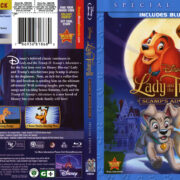 Lady And The Tramp II: Scamp's Adventure (2001) R1 Blu-Ray Cover