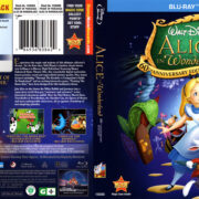 Alice In Wonderland (1951) R1 Blu-Ray Cover