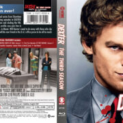 Dexter: Season 3 (2008) R1 Blu-Ray Cover